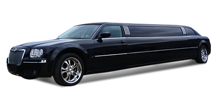 Chrysler 300 limo rental in Miami with driver