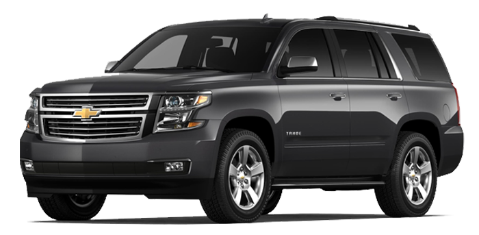 Chevy Suburban SUV rental with driver Miami
