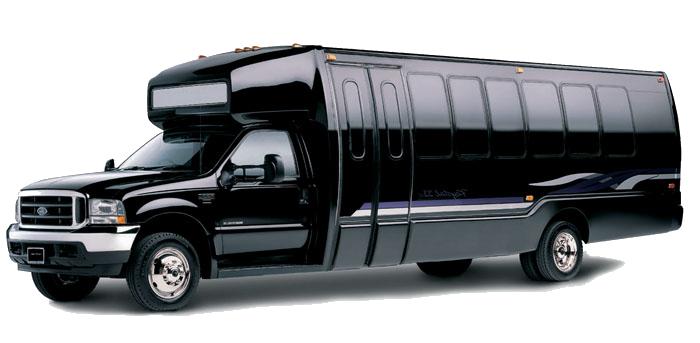 Luxury Mini Bus rental with driver in Miami
