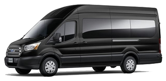 Ford Transit van rental with driver in Miami