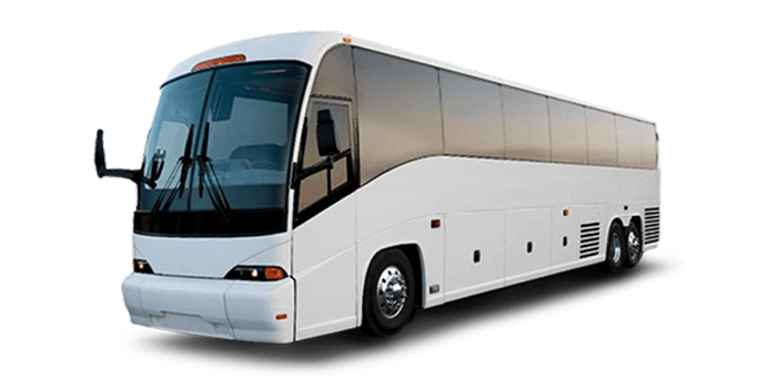 Large group rental Motor Coach with driver